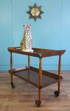 Mid century serving trolley - SOLD